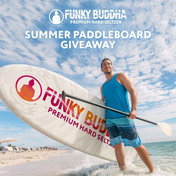 Funky Buddha Premium Hard Seltzer Paddleboard Giveaway