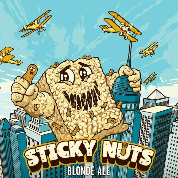 Sticky Nuts Returns on May 1st, 2021