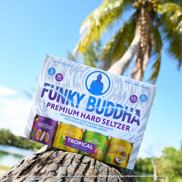 Funky Buddha Premium Hard Seltzer Tropical Sweepstakes