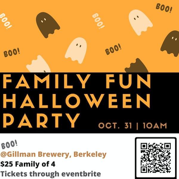 Family Fun Halloween Party