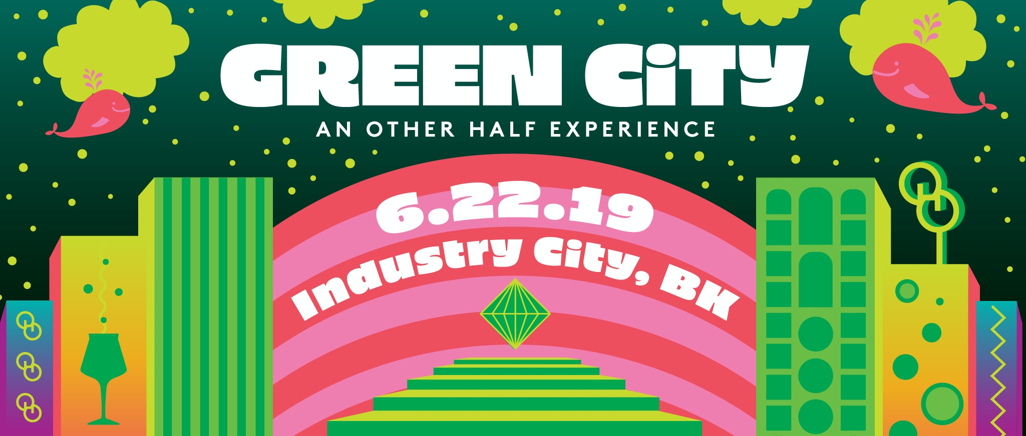 Green City - Event Website Header