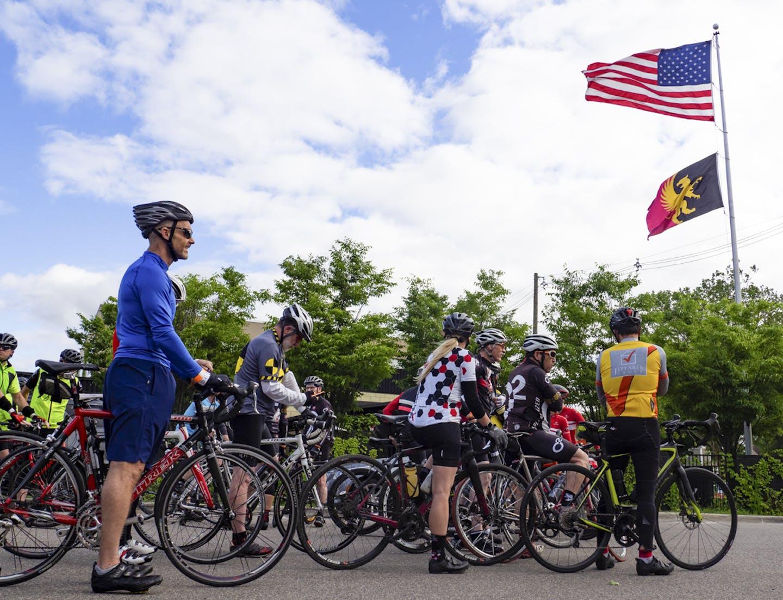 Griffin Claw Community biking event