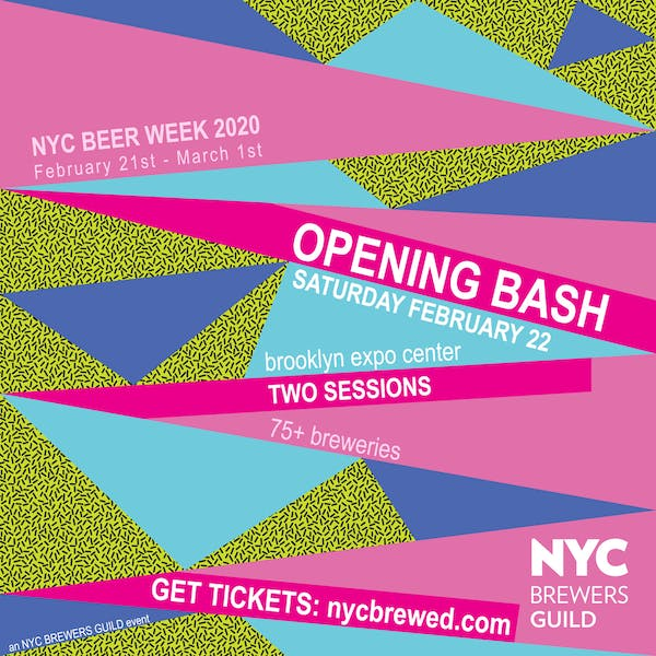 2020 NYC Beer Week Opening Bash!