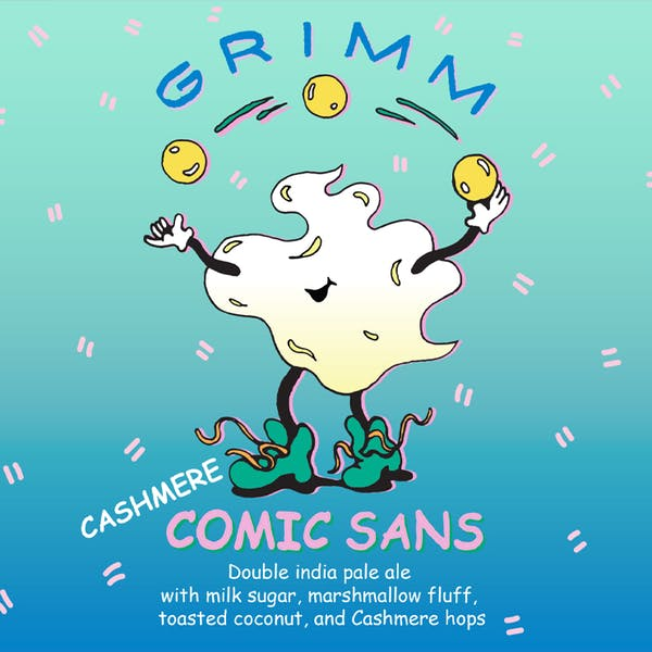 Image or graphic for Comic Sans Cashmere
