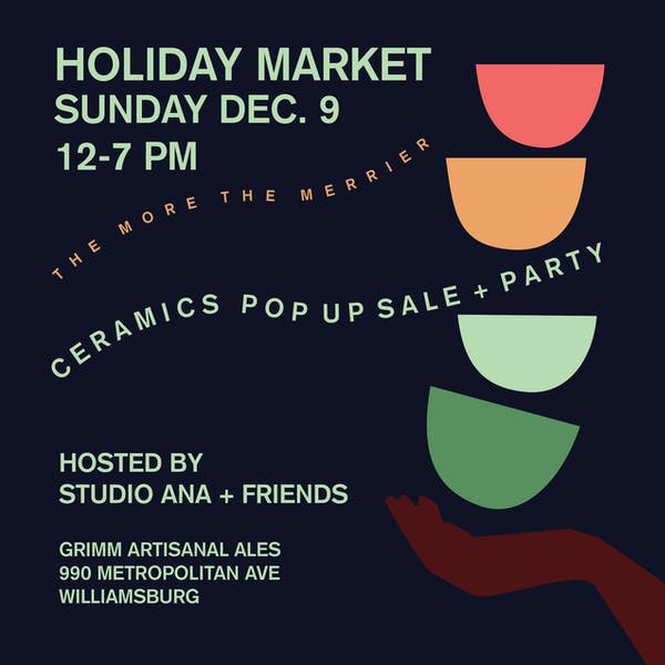 Holiday Pottery Sale!