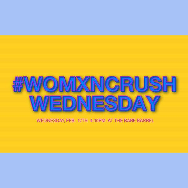#WomxnCrush Wednesday at The Rare Barrel