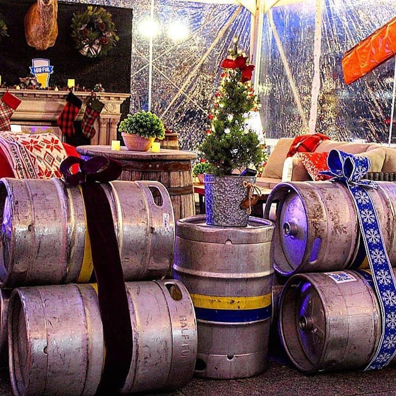 Half Full Brewery Winter Beer Garden