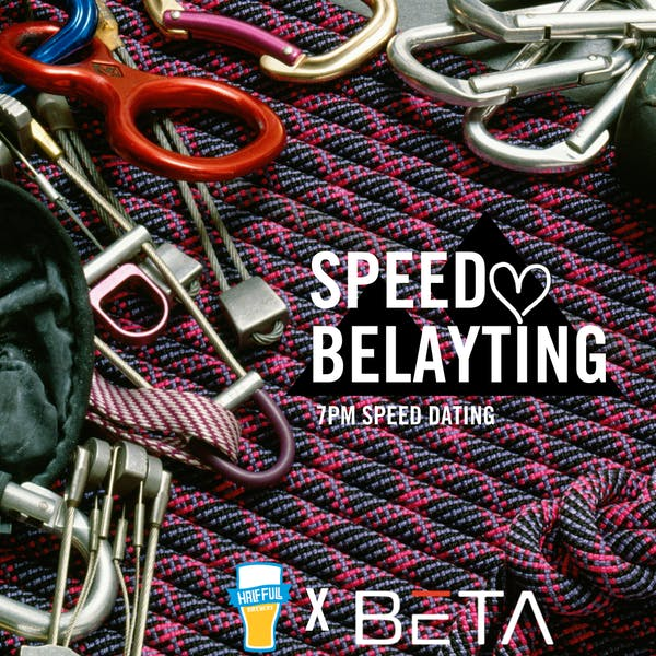 Speed Belayting @ Beta Rocks