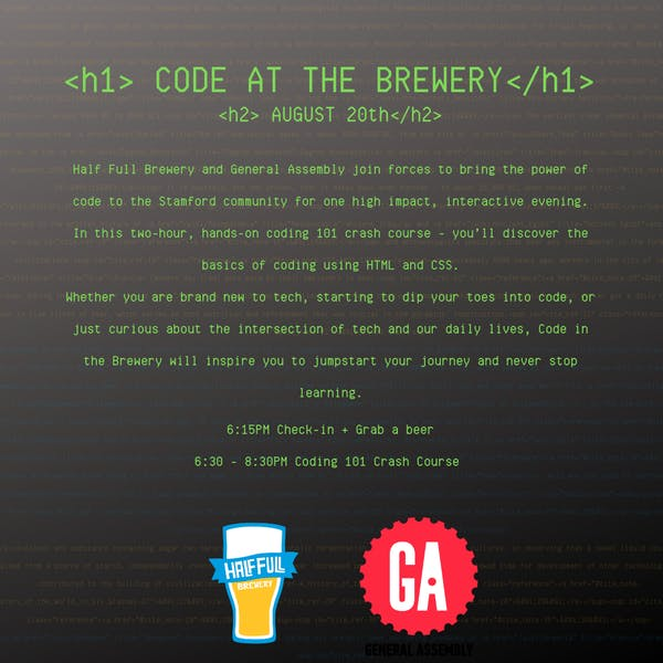 CODE AT THE BREWERY