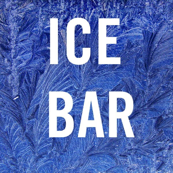 Ice Bar at The Winter Beer Garden