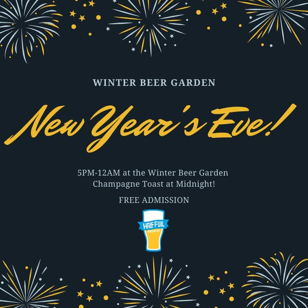 New Year's Eve at The Winter Beer Garden