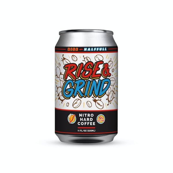 Image or graphic for Rise & Grind – Nitro Hard Coffee