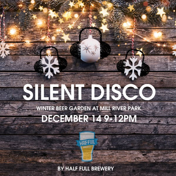 Silent Disco at The Winter Beer Garden