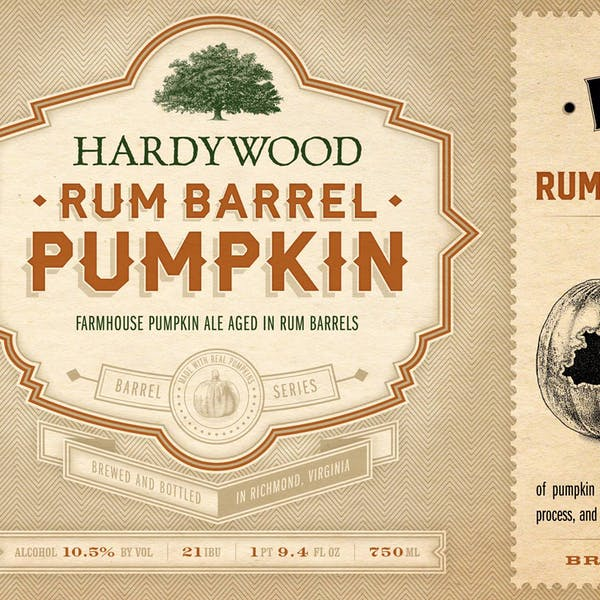 Rum Barrel Pumpkin Release