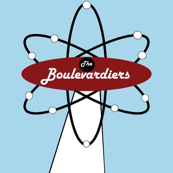 boulevardiers live music band logo