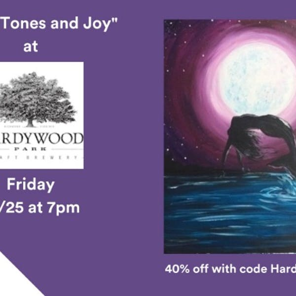Paint Nite at Hardywood Charlottesville