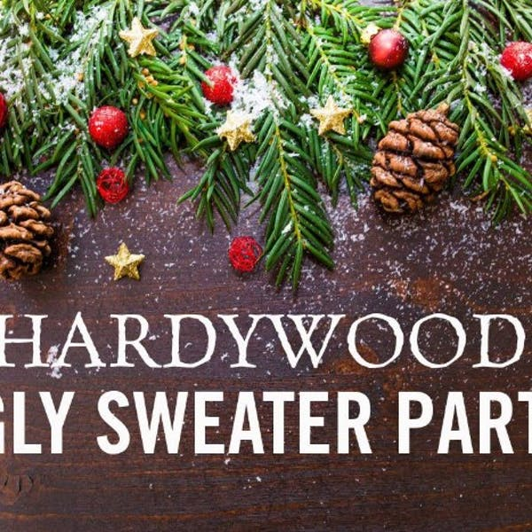 Hardywood Cville Ugly Sweater Party