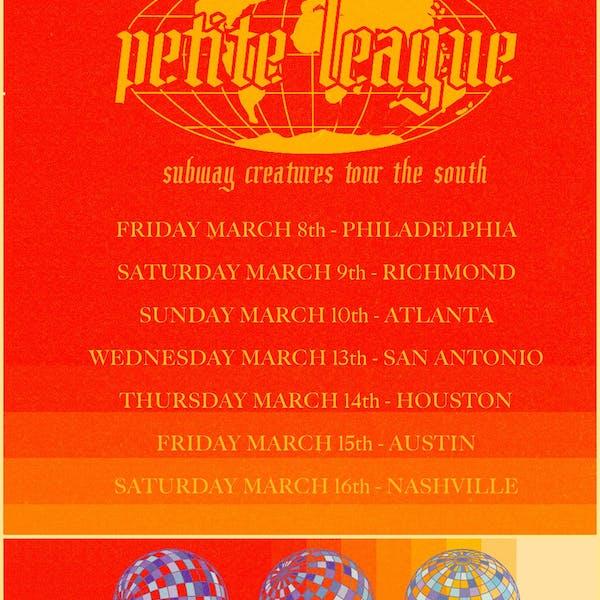 petite league tour poster