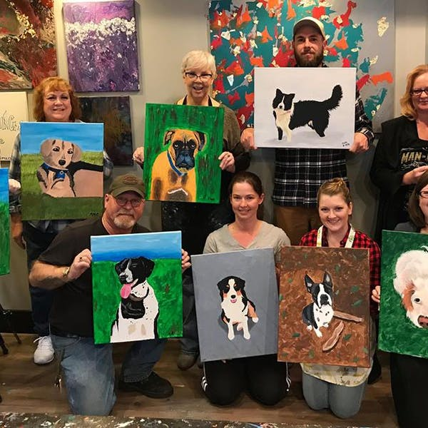 richmond spca paint night
