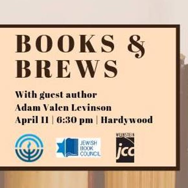 books and brews with jcrf