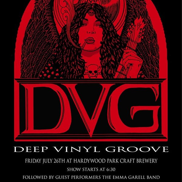 deep vinyl groove concert cd release party poster