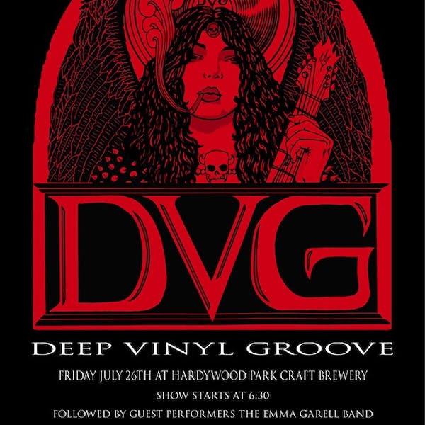 deep vinyl groove concert cd release party poster