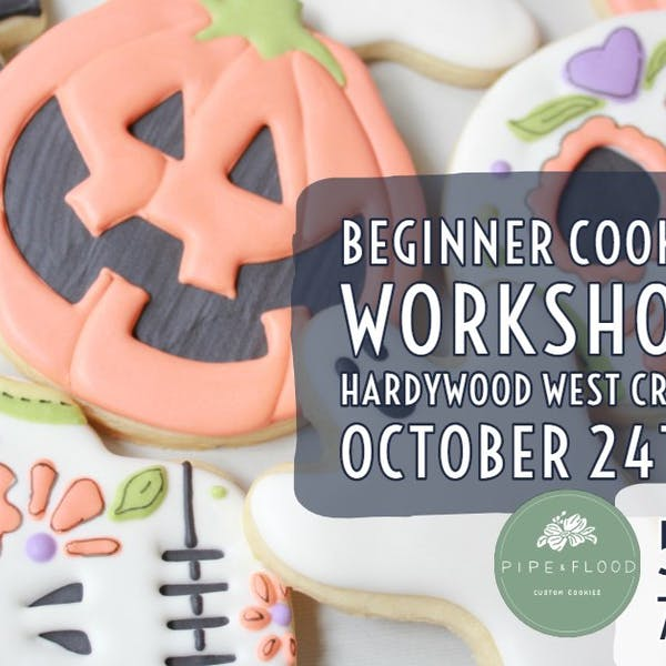 SOLD OUT Halloween Beginner Cookie Workshops