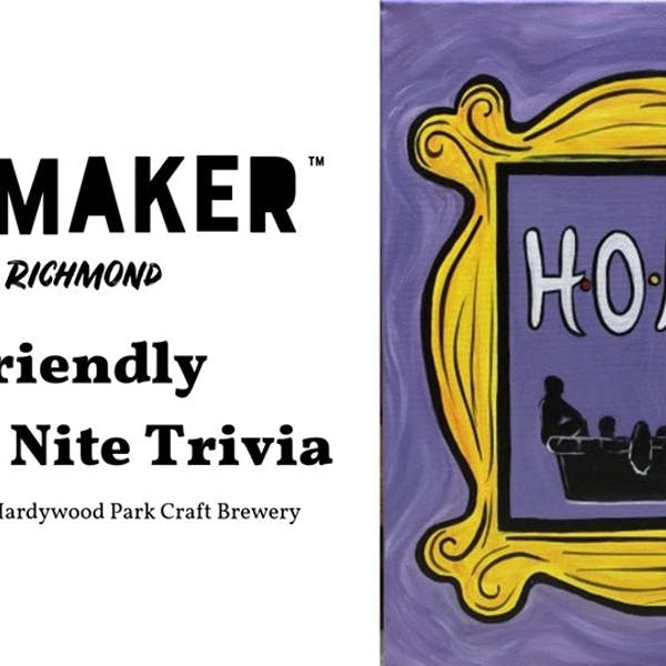 friendly paint nite trivia