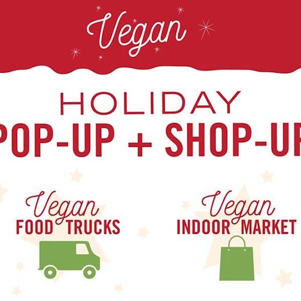holiday vegan pop up shop up