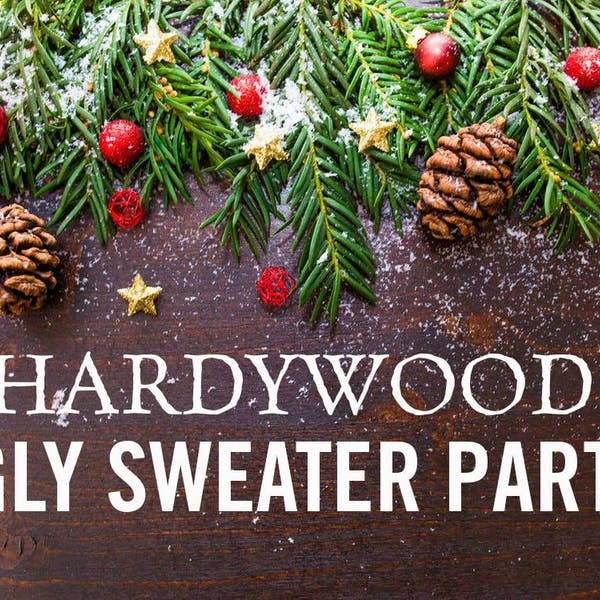 Ugly Sweater Party at Hardywood Charlottesville!