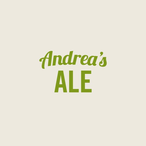 Image or graphic for Andrea's Ale