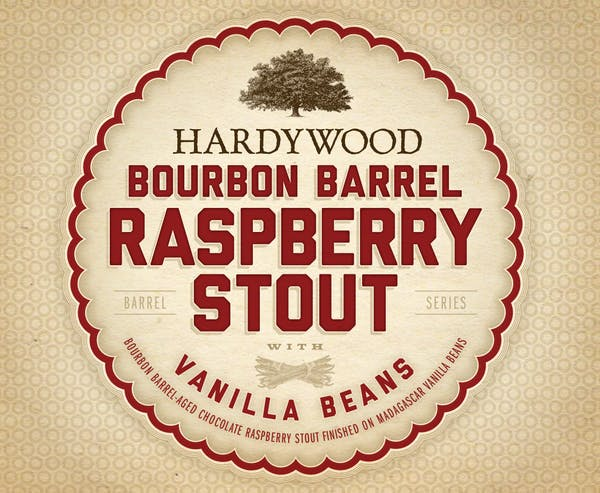 Bourbon Barrel Raspberry Stout with Vanilla Beans
