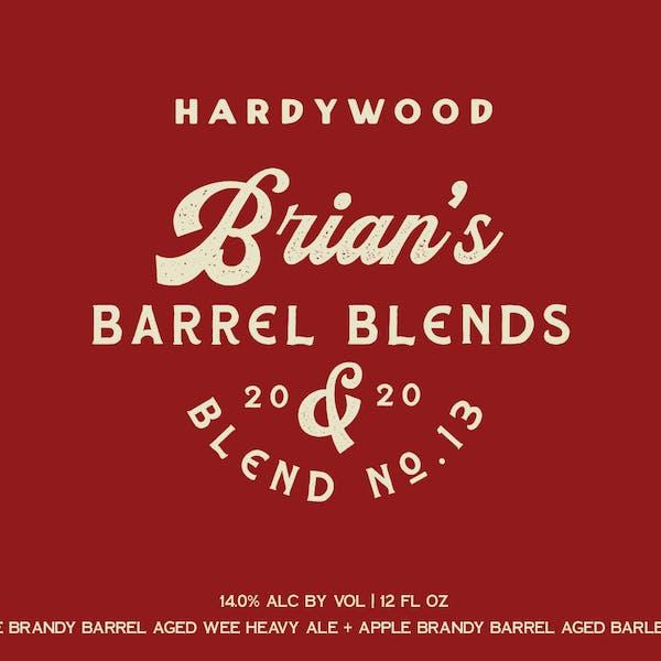Brian's Barrel Blend no. 13 Release