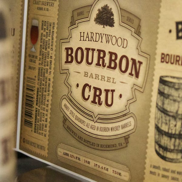 Bourbon Cru bottles