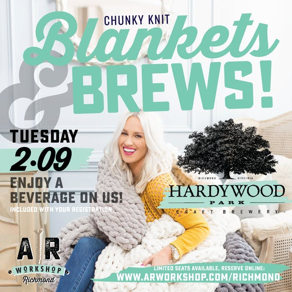 Blankets and Brews with A|R Workshop