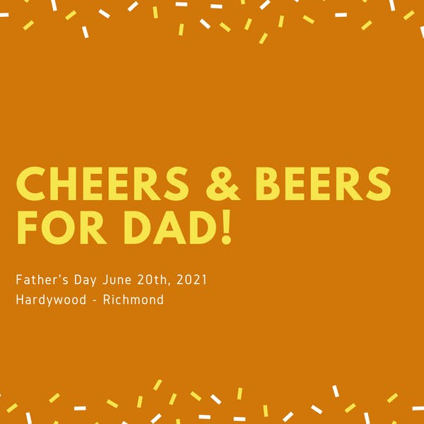 Cheers & BEERS For Dad! copy