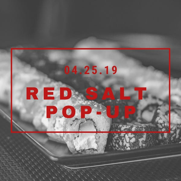 Red Salt Pop-Up at West Creek