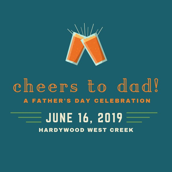 cheers to dad fathers day event
