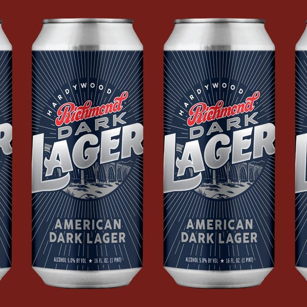 Richmond Dark Lager Can Release