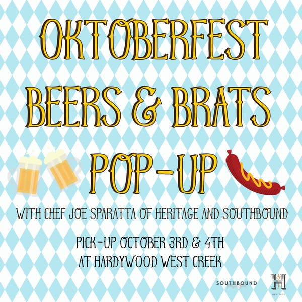 Oktoberfest Beers and Brats Pop-Up