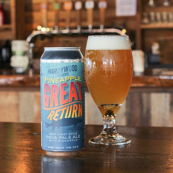 Pineapple Great Return Can Release at West Creek