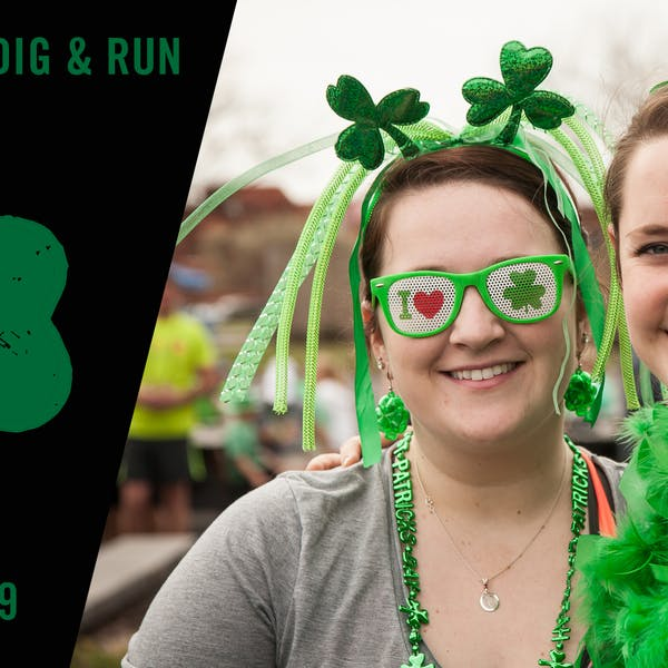 Participants in the 2016 Shamrock 5k, presented by Mark Junkermann and RunRideRace.