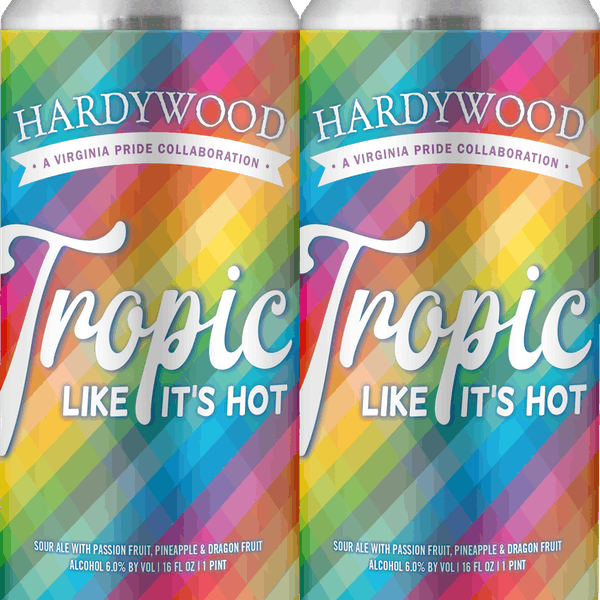 TROPIC - 16OZ CAN-4 PACK- STRAIGHT - PAKTEK