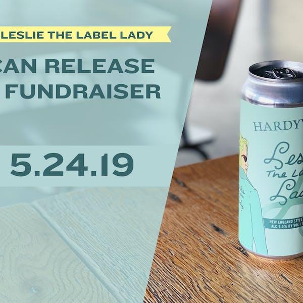 leslie label lady fundraiser