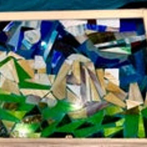 Stained Glass Mosaic Frame Workshop