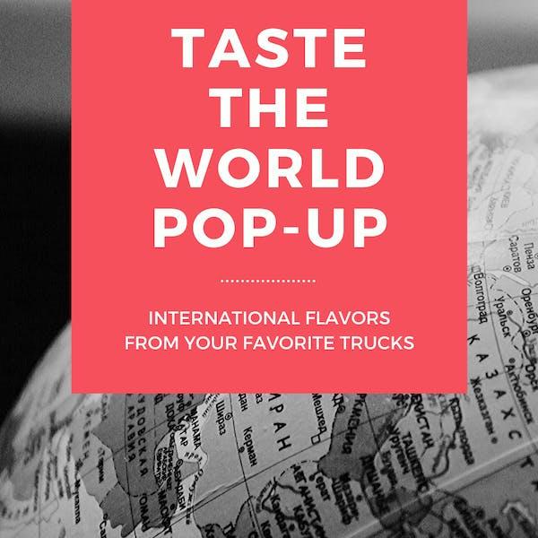 taste the world pop-up