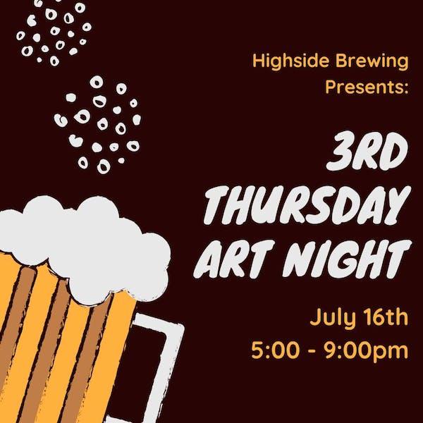 3rd Thursday Art Night
