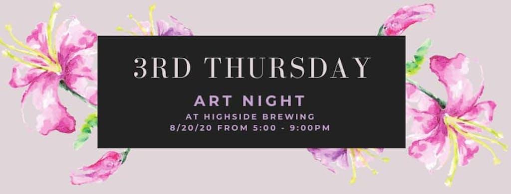 3rd Thursday Art Night Photo