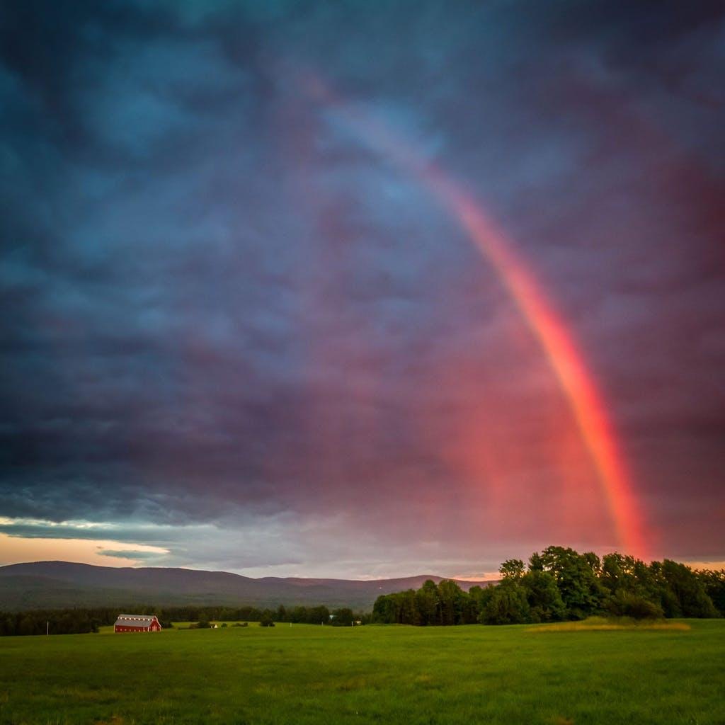 Visit - Rainbow over Jaffin