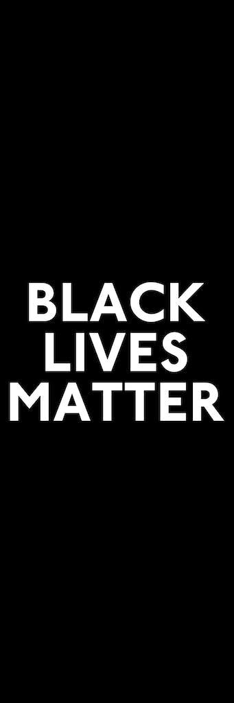black lives matter vert banner copy